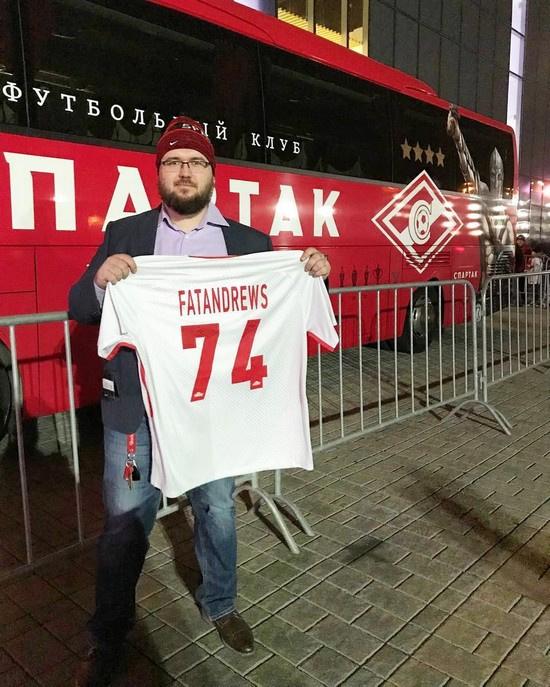 Пострадавший Андрей Измайлов – активный болельщик «Спартака»