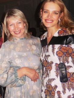 Наталья Водянова с мамой, Ларисой Кусакиной