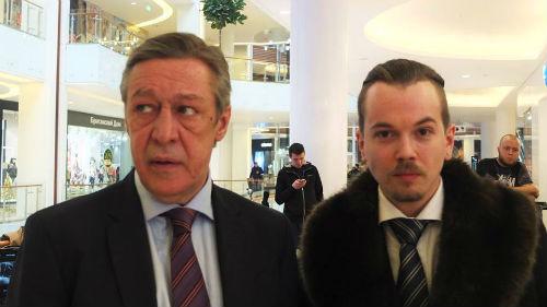 Михаил Ефремов и Иван Макаревич