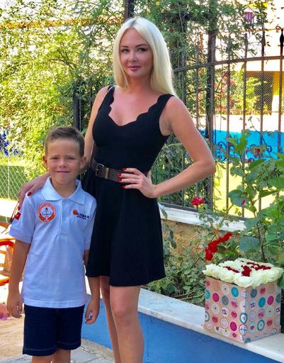 Дарья Пынзарь со старшим сыном