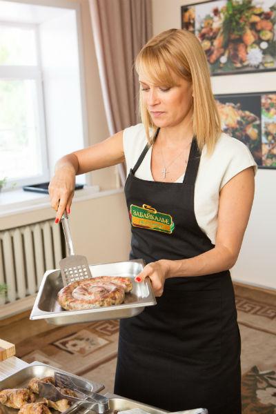 Олеся научилась готовить колбасу из дичи