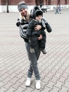 Яна Рудковская с Александром
