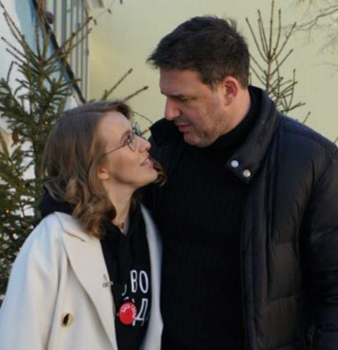 Ксения Собчак и Максим Витроган
