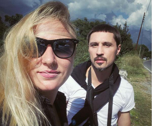 Дима Билан и его бывшая девушка Анастасия