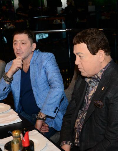 Григорий Лепс и Иосиф Кобзон