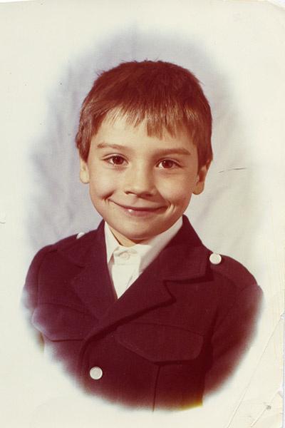 В школе Сергей  учился на  «хорошо» и  «отлично»