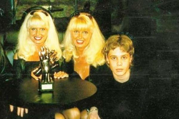 Сестры Зайцевы с сыном Татьяны, Алексеем Черенковым
