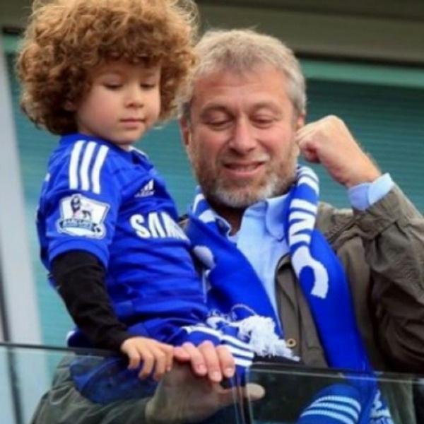 Роман Абрамович вместе с сыном