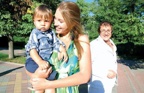 Полина Диброва признает, что Дмитрий - главный в семье