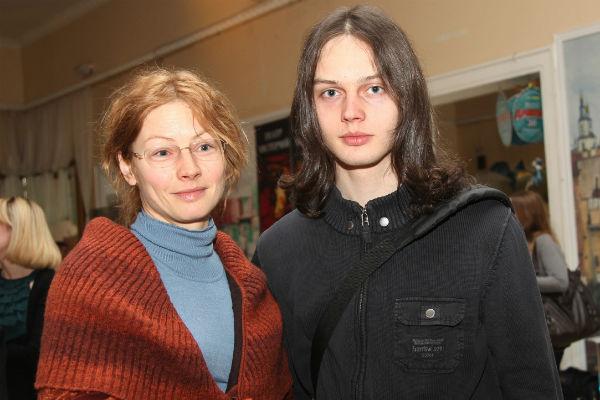 Алена Бабенко с сыном