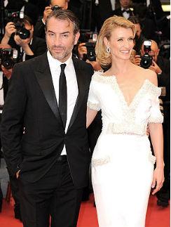 Жан Дюжарден с женой