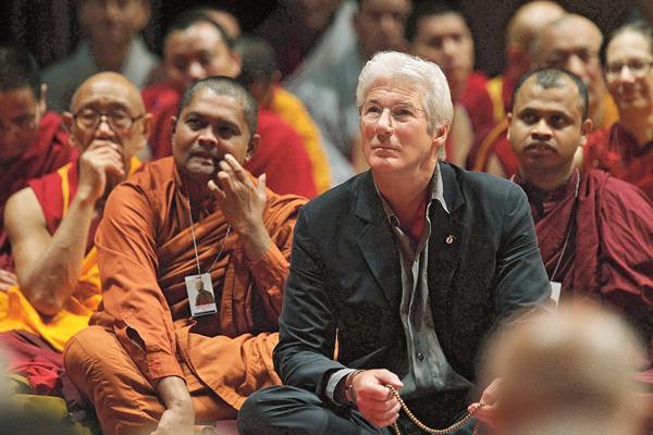 «Дядя Ричард» стал для Алехандры духовным наставником в буддизме
