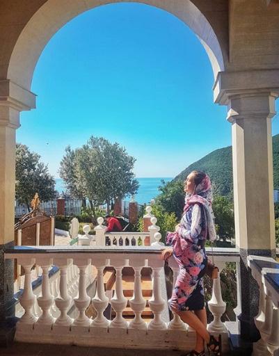 Сейчас Мария проводит время в Крыму