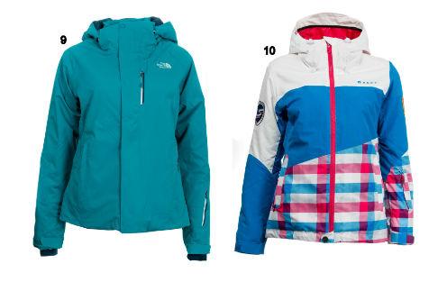 Куртка The North Face и куртка горнолыжная, Roxy, Quiksilver