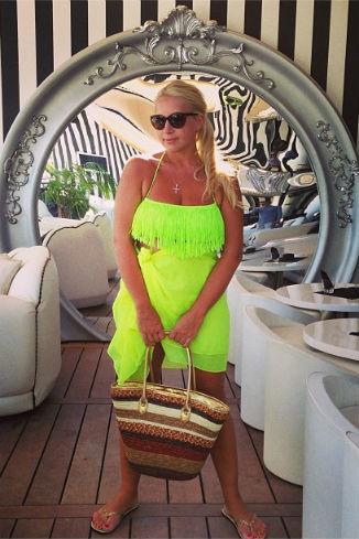 Екатерина Одинцова отдыхала в одном отеле со Сталлоне