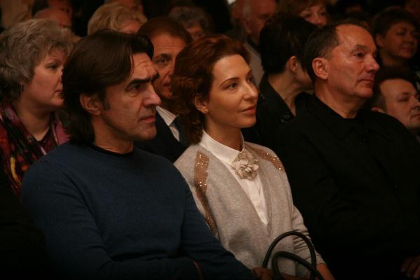 С женой Анжеликой