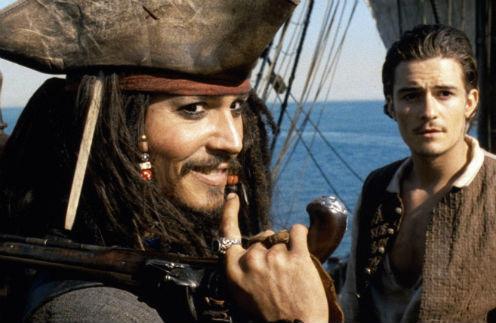 Кадр из фильма «Пираты Карибского моря: Проклятие «Черной жемчужины»»