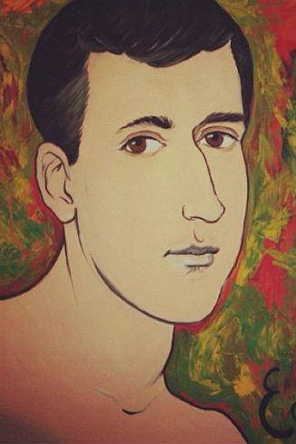 Портрет мужа стал первой работой Алены