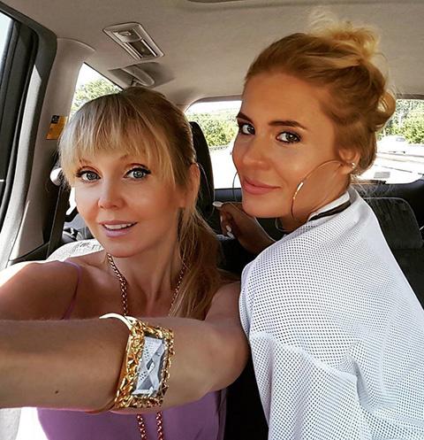Валерия с дочерью Анной Шульгиной