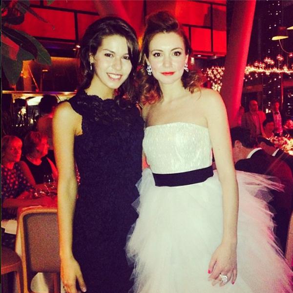 Татьяна с сестрой Ириной
