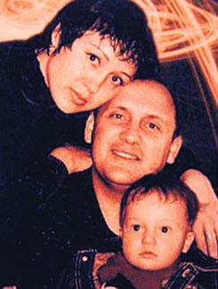 Ирина Горб, Стас Михайлов и их сын Никита