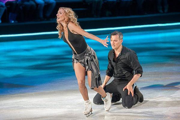 Тот самый танец раздора. Выступление Татьяны Навки и Егора Бероева все судьи оценили в 6.0