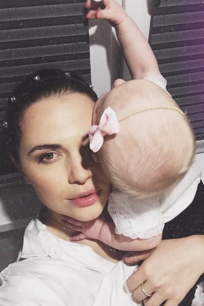 Белогурова с дочерью Оливией