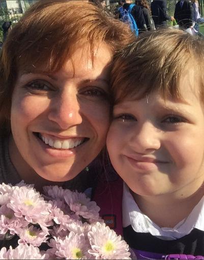 Светлана Зейналова с дочерью Сашей