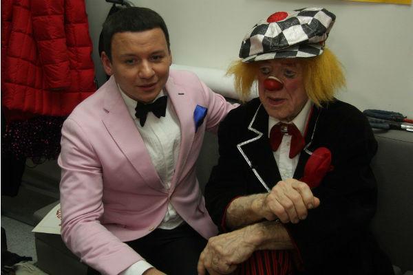 Александр Олешко и Олег Попов
