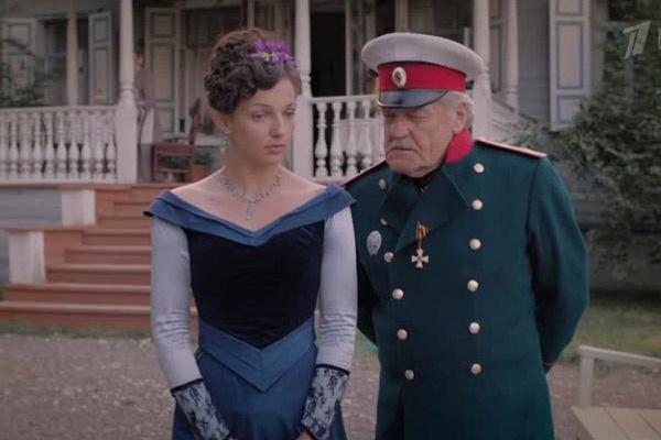 Год назад Леонова снялась в мини-сериале «Куприн. Яма»