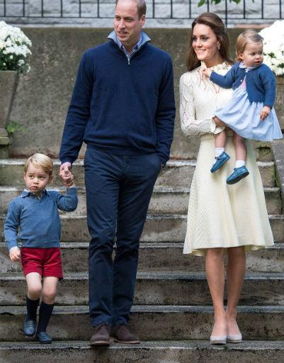 До рождения старшего сына принц Уильям и Кейт Миддлтон состояли в браке два года