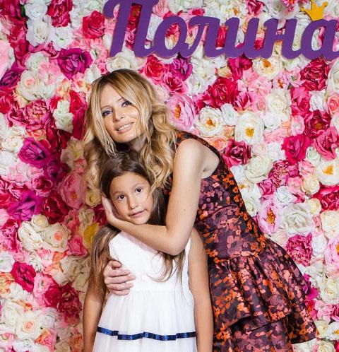 Дана Борисова с дочкой Полиной