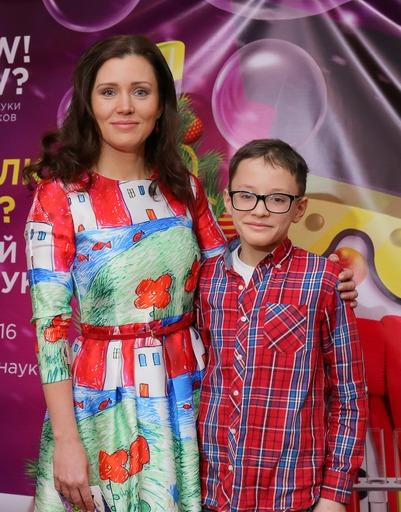 Юлия Назаренко с сыном