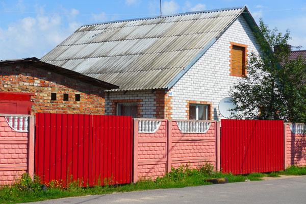 Дом тети Тани в Минске оказался очень скромным