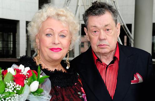 Людмила Поргина и Николай Караченцов