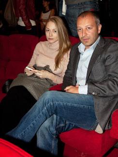 Оксана Акиньшина и ее супруг Арчил Геловани