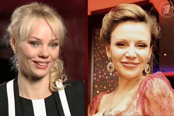 Гости студии поразились внешнему сходству Прежевской(справа) и новой возлюбленной ее бывшего мужа, Марии Ротань