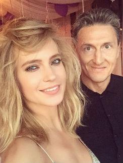 Певица Глюк'oZa с мужем