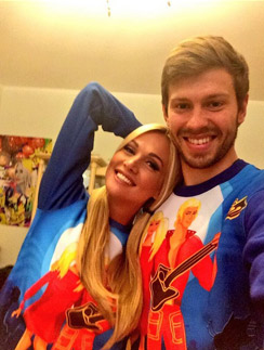 Виктория и Федор любят одеваться одинаково