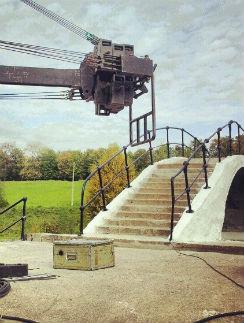 Мост в Старой Олимпийской деревне