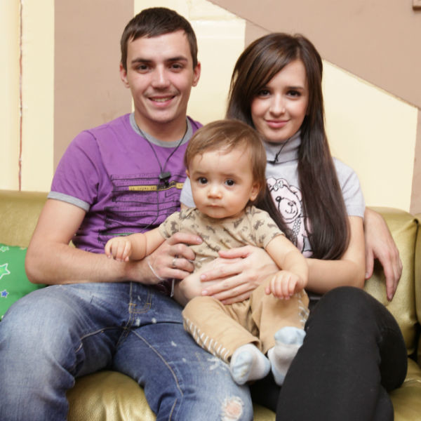 Фото ребенка салибековых с дома 2