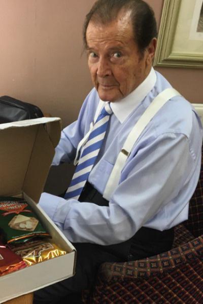 Роджер Мур ушел из жизни в 89 лет