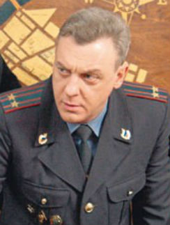 Александр Половцев в роли майора Соловца