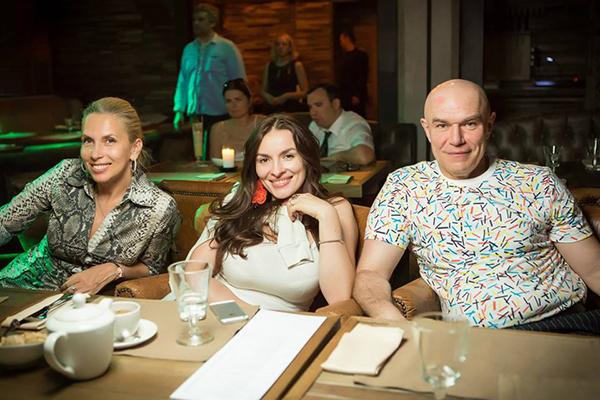 Алена Свиридова, Надежда Мейхер, Сергей Мазаев