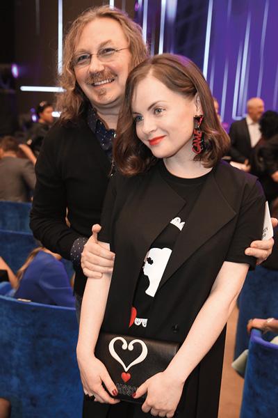 Игорь Николаев с женой Юлией готовы были аплодировать стоя