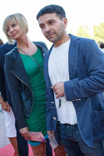 С бывшей женой Анной Касаткиной