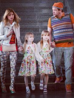 В реальной жизни у Вилле трое детей, а у Анастасии пока ни одного