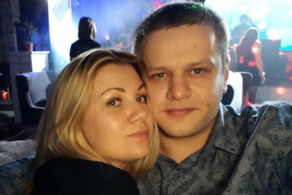 Игорь Востриков с женой