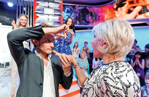 Во время сеанса Татьяна Веденеева потеряла дар речи
