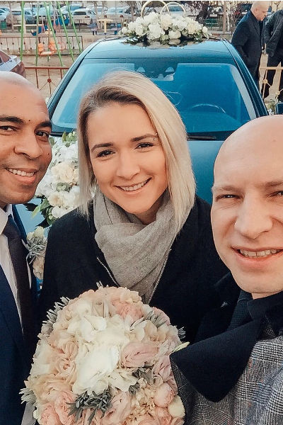 Недавно Ольга побывала на свадьбе Сэма Селезнева